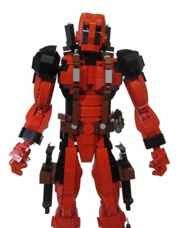 deadpool lego action figure is ready for action news geektyrant