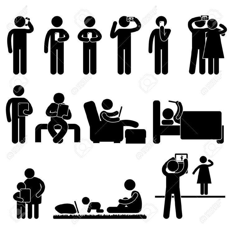 18797540-Mann-Menschen-Frauen-Kinder-mit-Smartphone-und-Tablet-Icon-Symbol-Zeichen-Piktogramm-Lizenzfreie-Bilder.jpg (1300×1300)