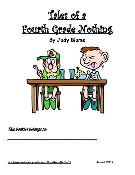 A fun book to read when practicing reading and writing skills in this 13 page workbook.  For grades 3-5. Click the link to see details. ($)