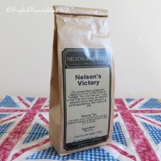 - イギリス雑貨と紅茶とハーブティーのお店 English Specialities ネルソン&ノーフォークティー ネルソンズ ヴィクトリー リーフティー