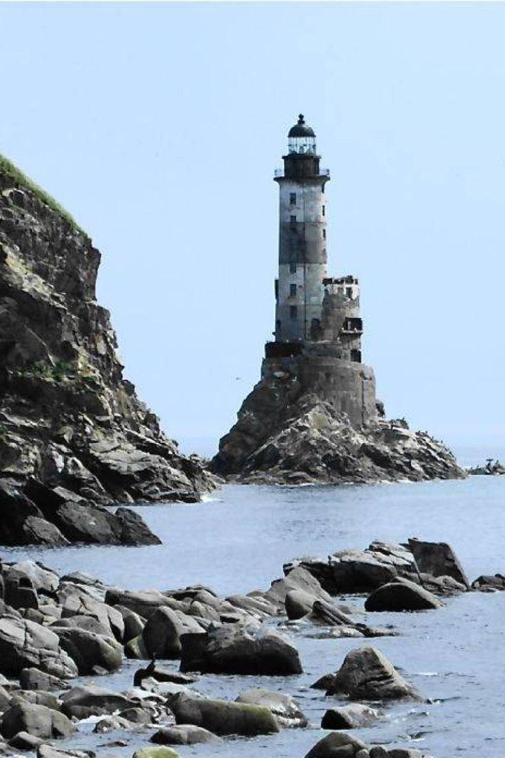 Aniva Rock Lighthouse - Russia