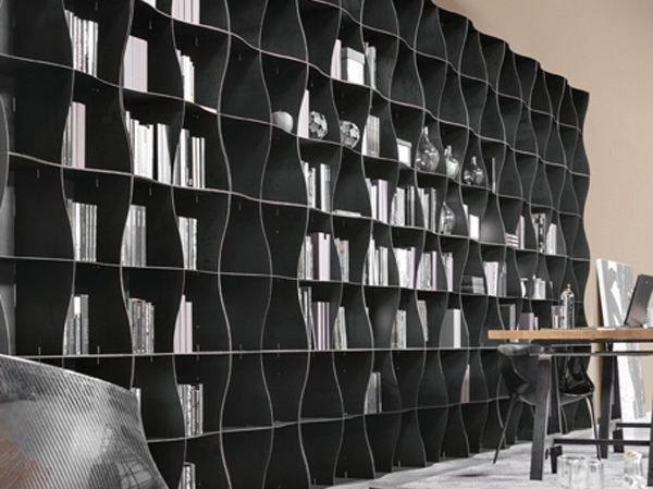 Libreria modulare in metallo IRON-IC by Ronda Design