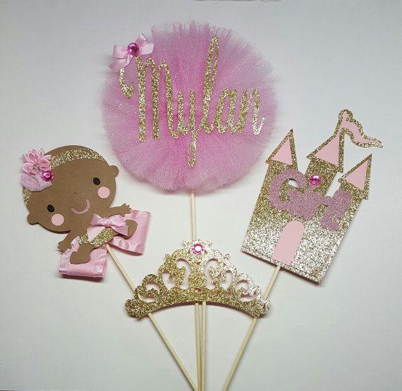 Princess Cake Topper,baby Shower Centerpiece,princess Centerpiece,princess  Diaper Cake Topper,