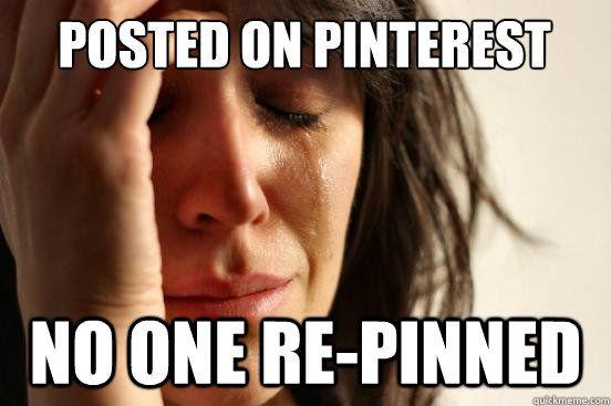 First world problems...