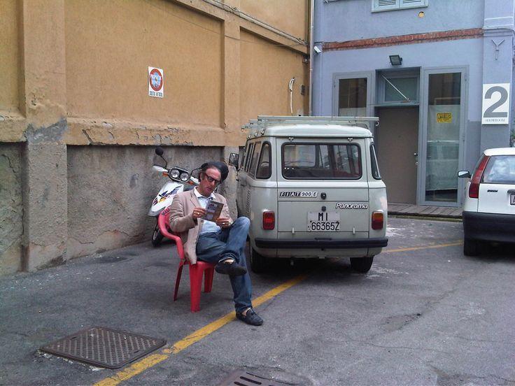 my new office, via tortona. milano