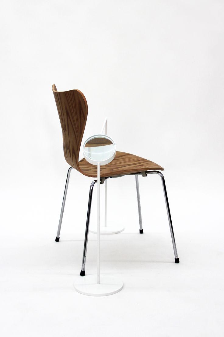 German designer Sebastian Herkner has reinterpreted the 7 Series Chair by Arne Jacobsen