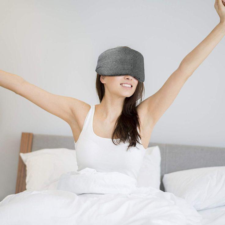 Cotton Sleep Mask New Design 100 Blackout Soft Sleeping Eye Mask Breathable Comfortable Night Blindfold Adjustable Eyeshade For Wom Sleep Mask Women Fashion