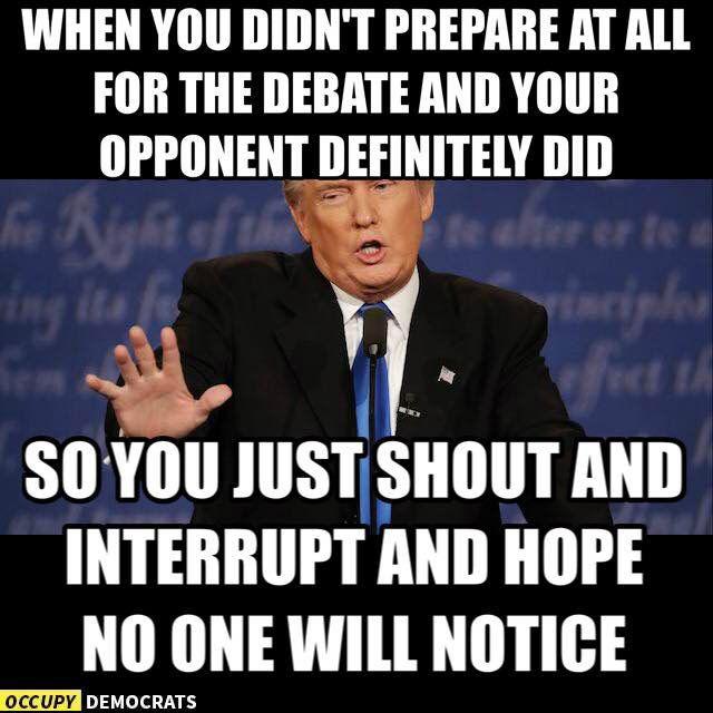 Funniest Presidential Debate Memes: When You Didn't Prepare At All