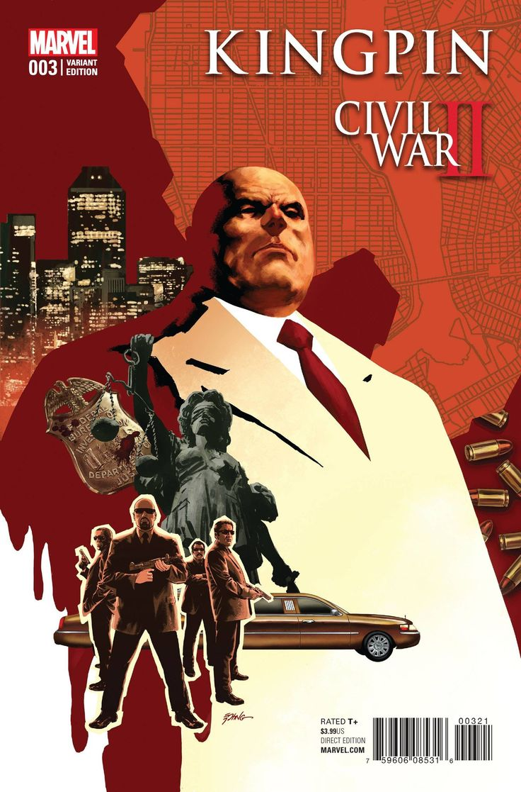 Civil War II Kingpin #3 (Of 4) Epting