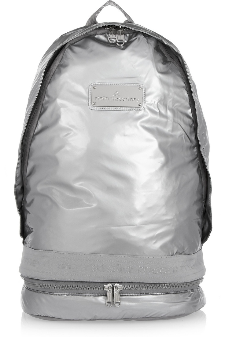 adidas by stella mccartney metallic backpack net a porter com fashion pinterest adidas. Black Bedroom Furniture Sets. Home Design Ideas
