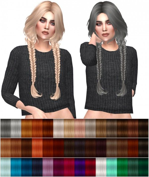 Kenzar Sims: HallowSims Sigma hairstyle retextured • Sims 4 Downloads