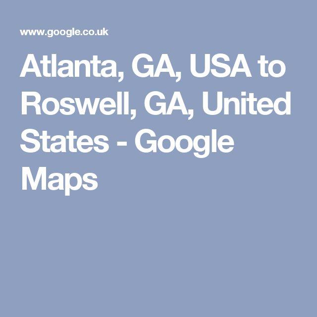Melhores Ideias De Atlanta Usa Map No Pinterest Mapa Do - Georgia map usa google