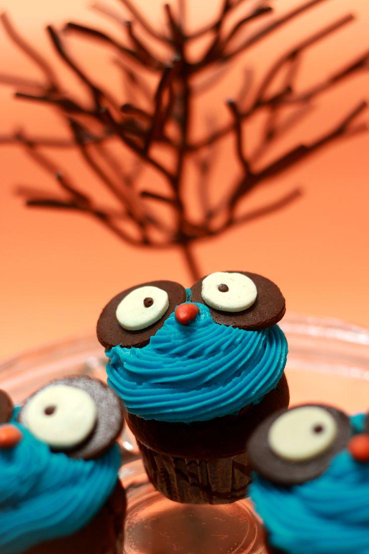 Cupcakes de Búho