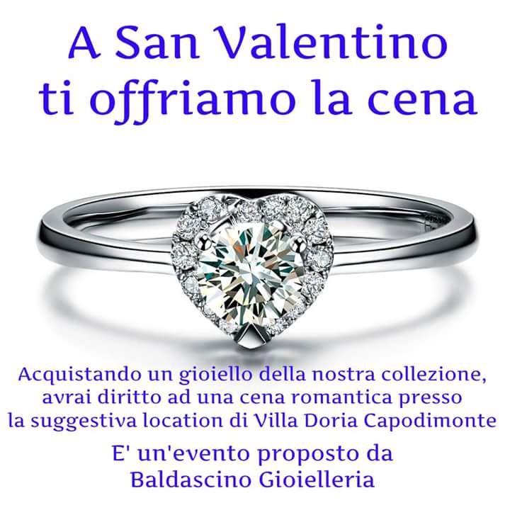 San Valentino Vi porta a cena.......