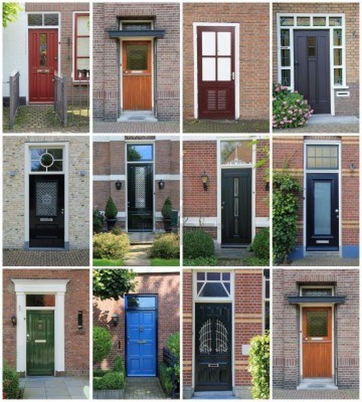 collage di porte anteriori olandese