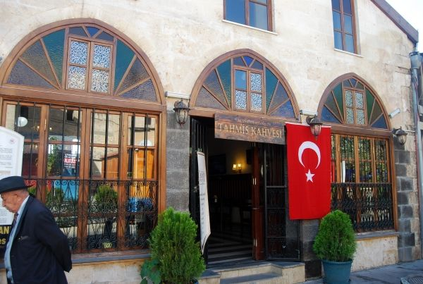 The Tahmis coffee house of Gaziantep #coffee #turkey http://turkishtravelblog.com/coffee-houses-of-gaziantep-menengic-dibek/