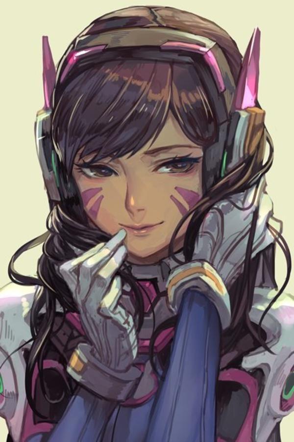 D.Va by hankuri | Overwatch | Know Your Meme