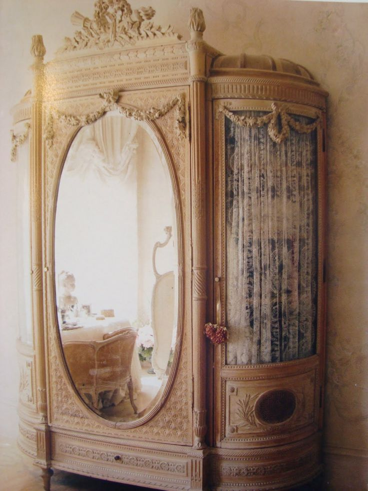 French Interiors - via Dream in Cream