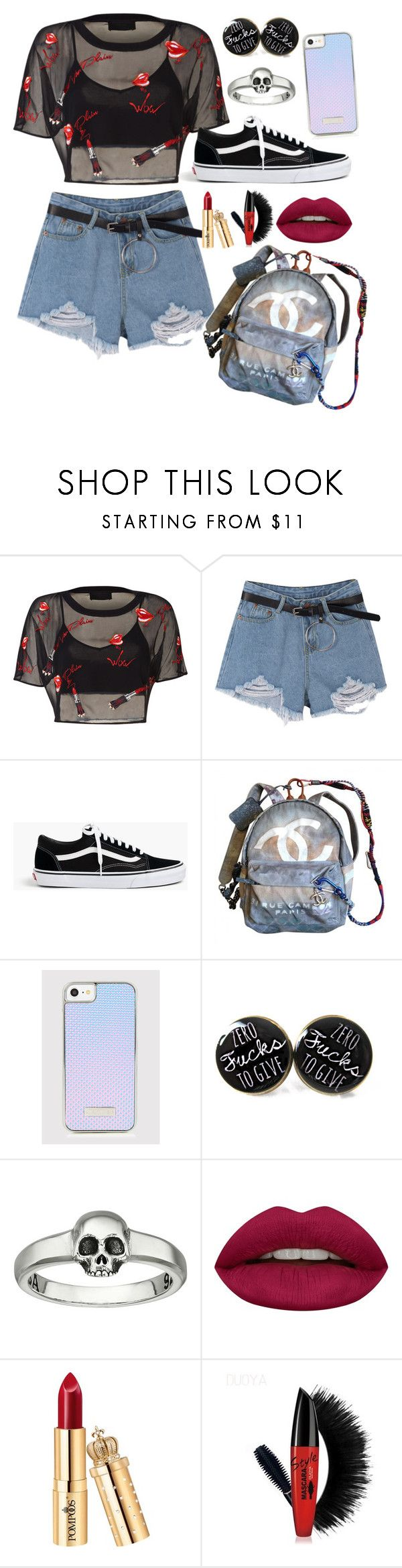 """Untitled #114"" by alexandrrraaa on Polyvore featuring J.Crew, Chanel, King Baby Studio and Huda Beauty"
