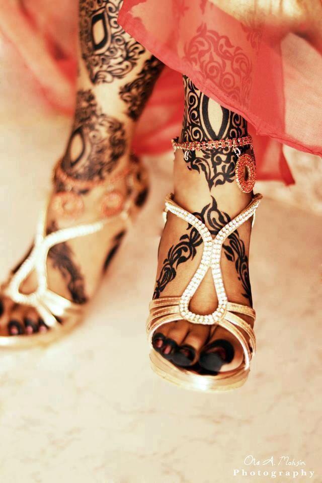 Bridal Sudanese henna