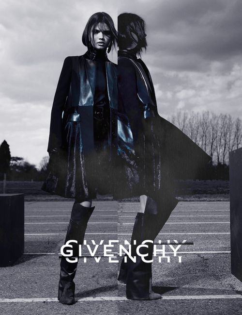 [] Givenchy FW12 Ad Campaign  #packaging #graphic #design #typography #editorial #poster #logo #fashion