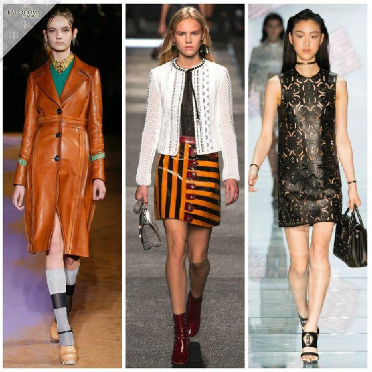 Alege rochia perfecta pentru petrecerile sezonului toamna-iarna 2015! Noi iti propunem rochia care te va scoate cu siguranta din anonimat! #2 Rochia de piele - Prada, Louis Vuitton si Versace au mizat pe piele si au propus pentru sezonul toamna-iarna 2015 rochii ce emana senzualitate si nonconformism. Mai multe tendinte pentru o tinuta inspirata gasesti pe HotBeautyHealth.com >> http://goo.gl/wMhU3h