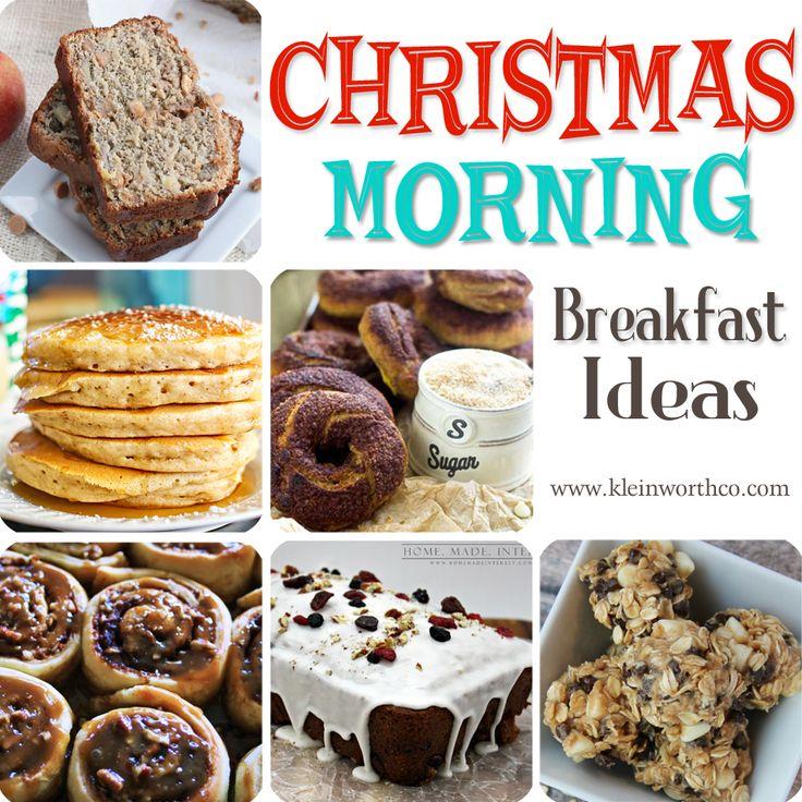 Christmas Morning Breakfast Ideas on kleinworthco.com