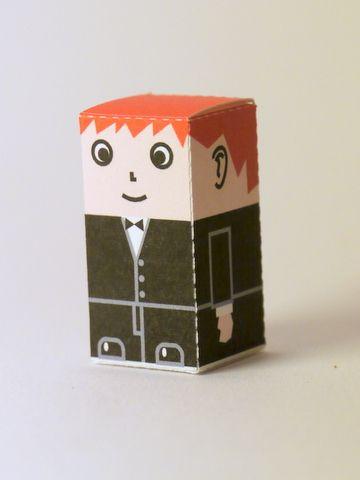 Cubicity paper dolls