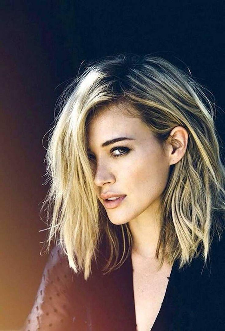 Coiffure tendance 2015 pour cheveux mi-longs en 50 photos! en 2020 | Tendances coiffures ...