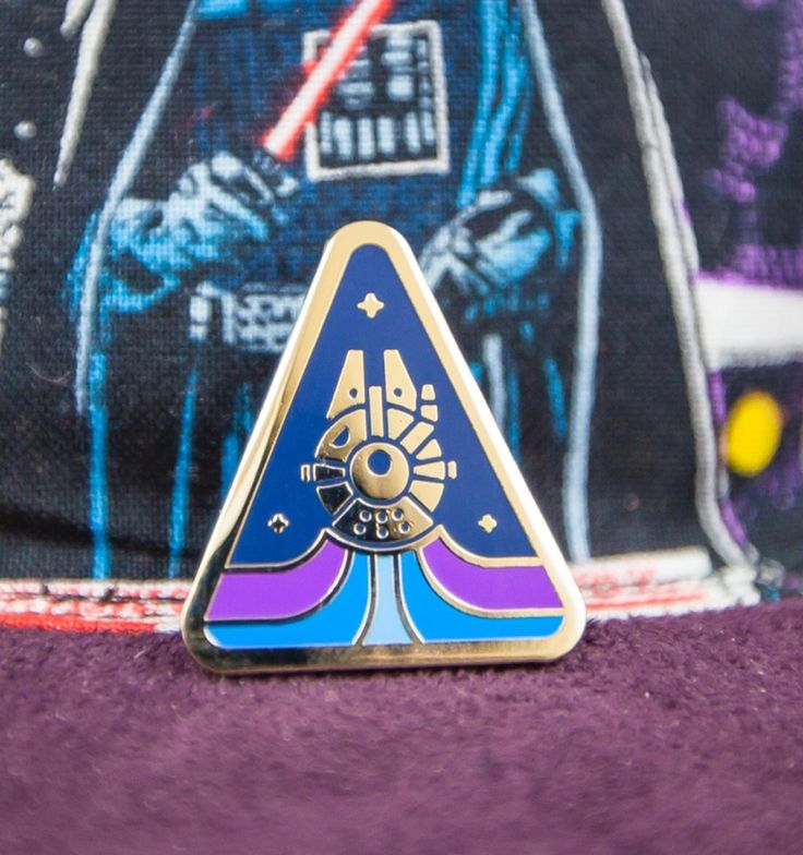 Image of Millenium Falcon Lapel Pin