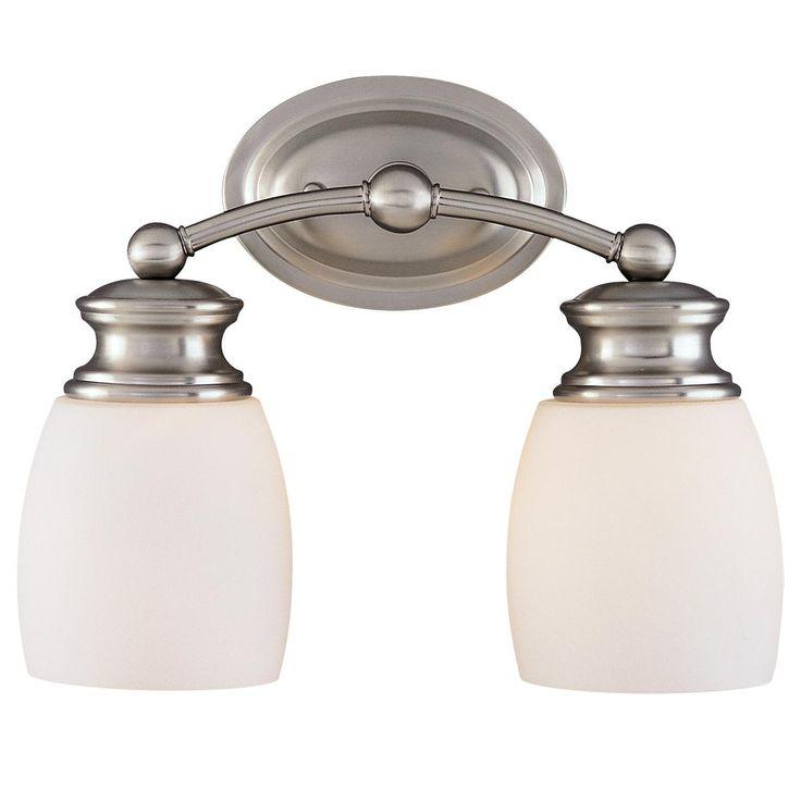 Transitional Bath Light  - 2 Light Shades of Light  $85