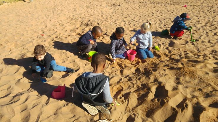 Sand play in the Park