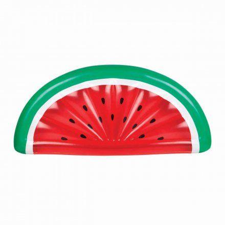 Luftmatratze in Form einer Melonenscheibe