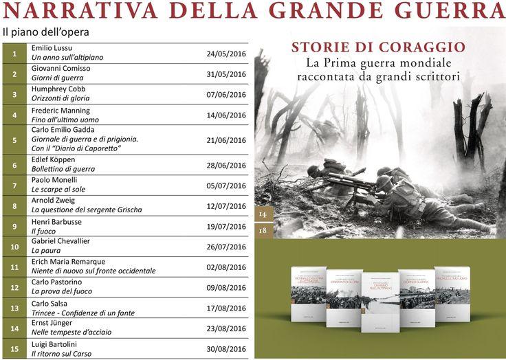 """Narrativa della Grande guerra: in edicola il primo volume della nuova iniziativa editoriale del """"Corriere"""" - Corriere.it"""