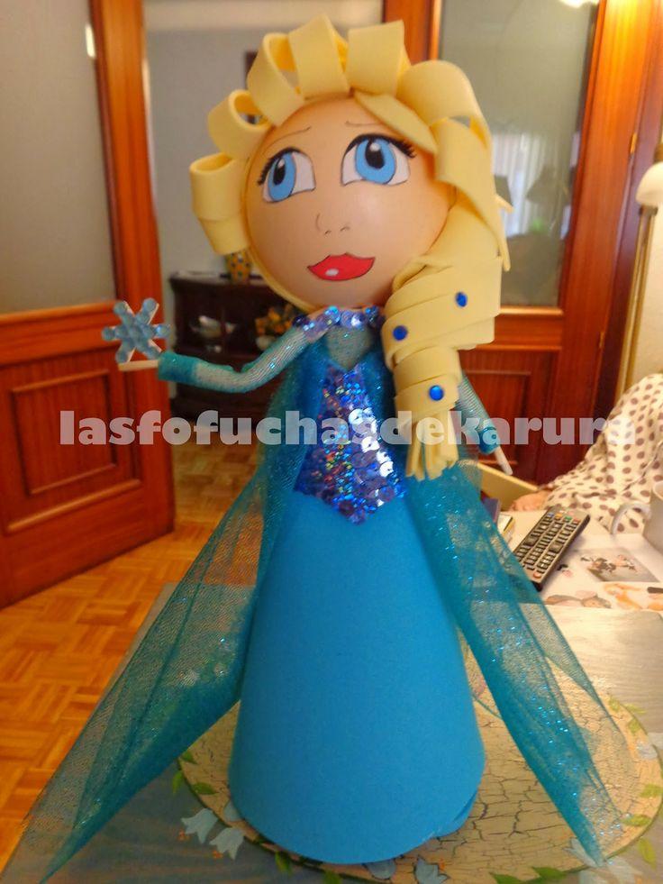 Moldes para Todo: - Fofucha Princesa Elsa -