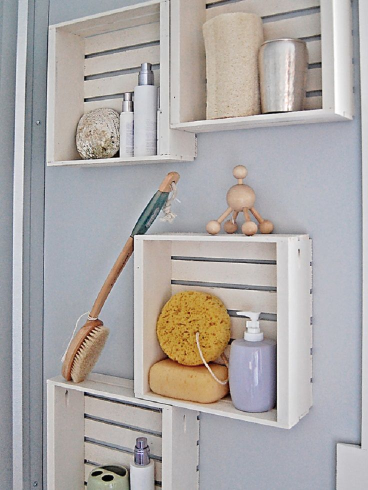 Here is a list of Top 10 Practical DIY Shelves which will help you to organize your home corners in a very nice way. #Shelves #Organizing #DIY
