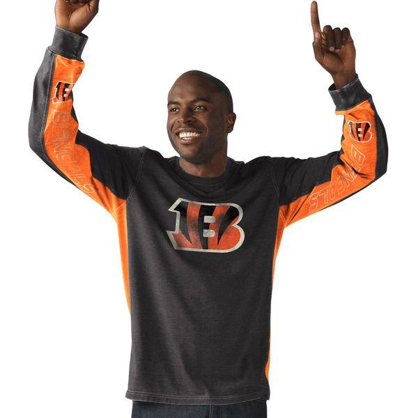Cincinnati Bengals Hail Mary Hands High Long Sleeve T-Shirt - Black - $39.99