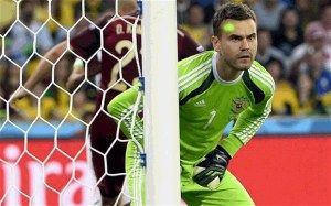russian goalkeeper
