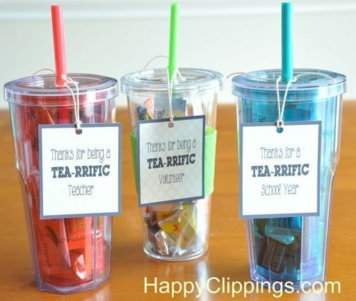 Thank You Gifts For Parents Ideas : Thank You Gift Ideas for Volunteers looking for a cute diy thank you ...