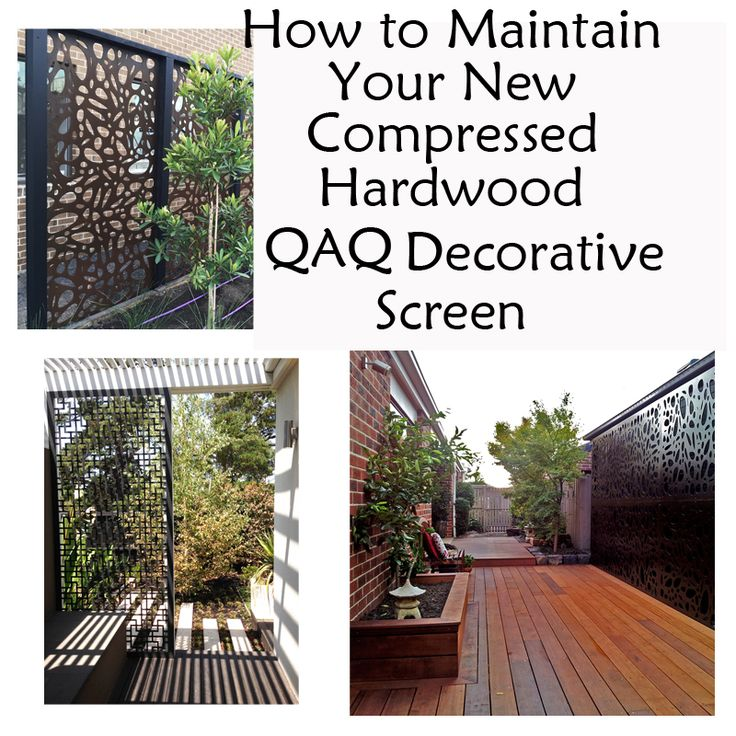 39 how to maintain your new compressed hardwood qaq decorative screen 39 a blog post for our. Black Bedroom Furniture Sets. Home Design Ideas
