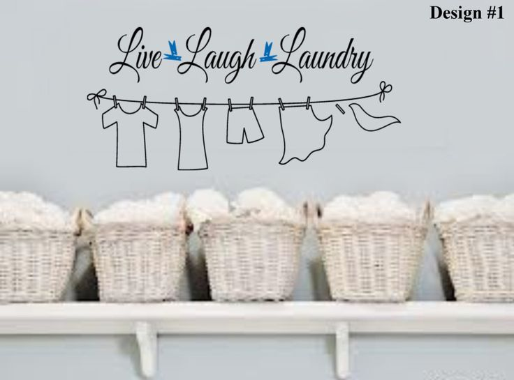 laundry room quotes for walls - Google Search