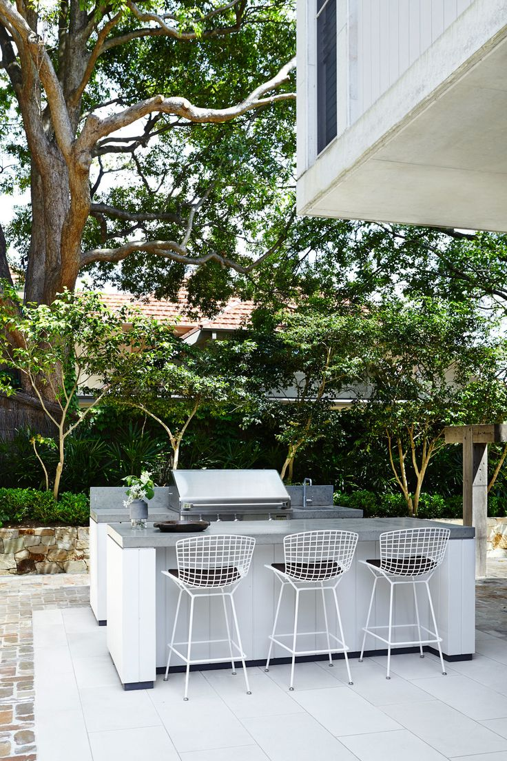 Insitu-concrete BBQ and Bench - Outdoor Establishments