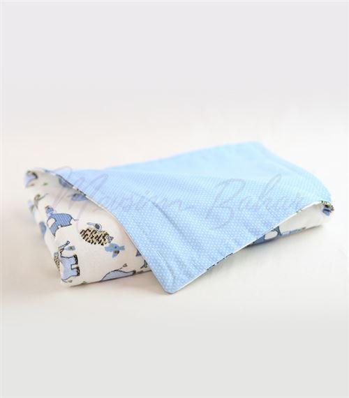 Bebek Battaniyesi Mavi