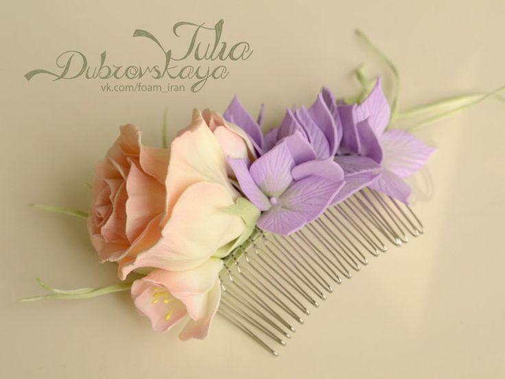 Цветы из фоамирана Юлии Дубовской