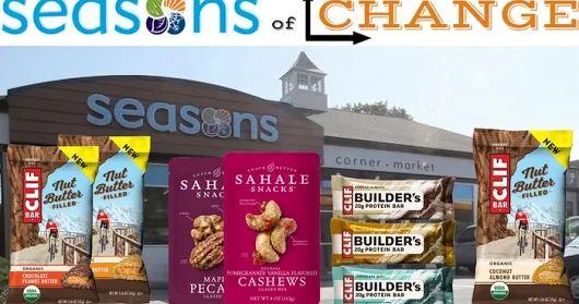 Seasons Of Change with Sahale Snacks & Clif Bar