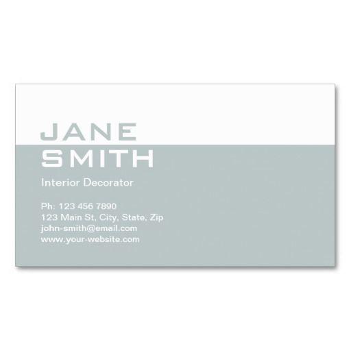 257 best elegant business cards images on pinterest elegant elegant professional interior design decorator business cards fbccfo Choice Image