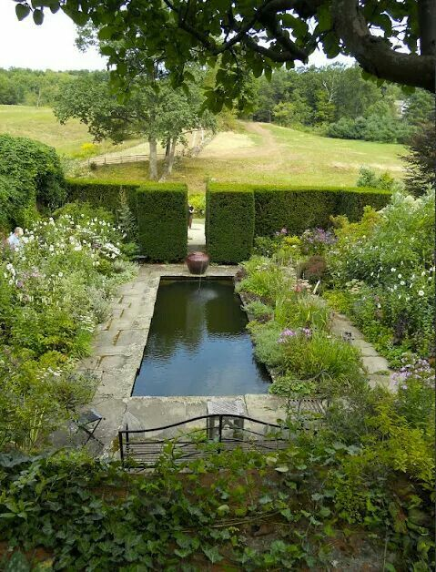 Pure peace, meditation garden
