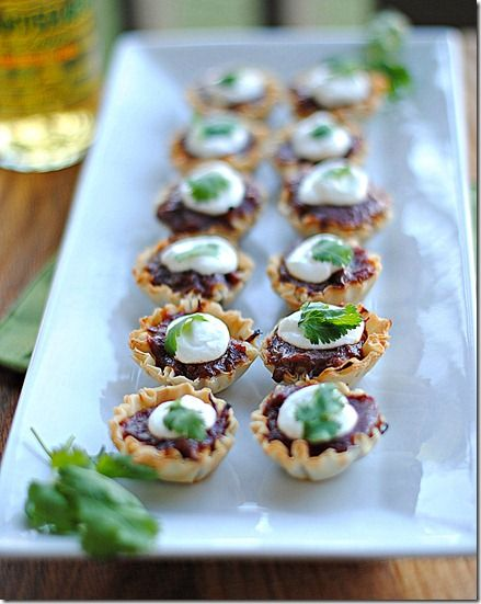 BBQ appetizers, this girl at Eat Yourself Skinny has a ton of weight watchers recipes