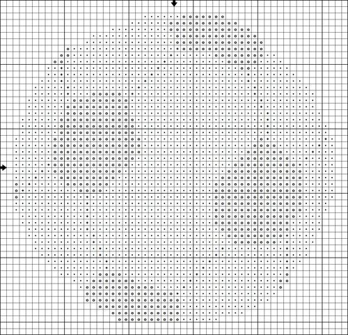 Free Soccer Ball (or Football) Cross Stitch Motif