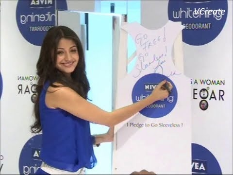 Anushka Sharma becomes the brand ambassador of Nivea.